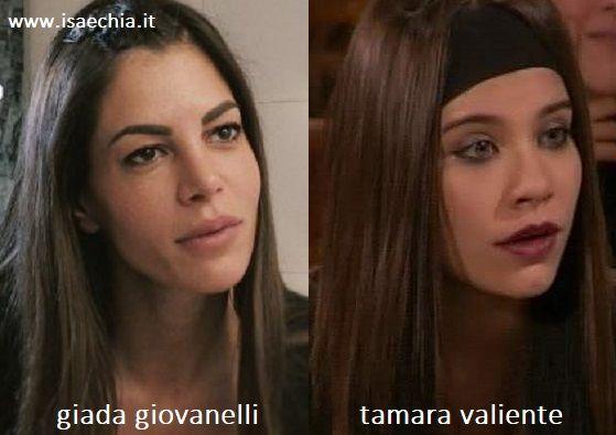 Somiglianza tra Giada Giovanelli e Tamara Valiente de 'Il Mondo di Patty'