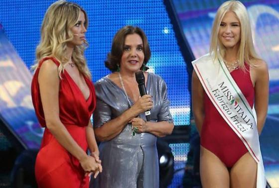 Diletta Leotta - Patrizia Mirigliani - Mara Boccacci