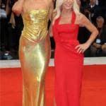 Irina Shayk e Donatella Versace
