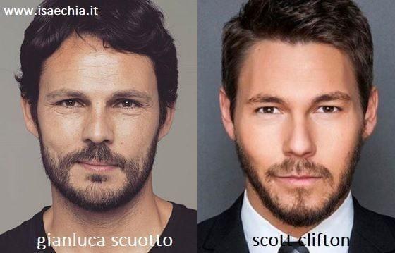 Somiglianza tra Gianluca Scuotto e Liam Spencer di 'Beautiful'