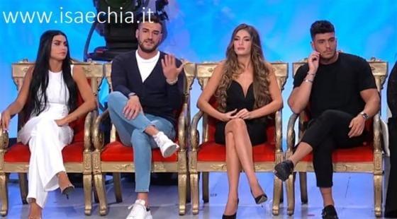 Trono classico - Teresa Langella, Lorenzo Riccardi, Mara Fasone e Luigi Mastroianni