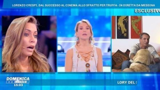 Domenica Live - Crespi, Cascella