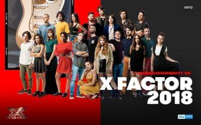 X Factor 12 - Concorrenti