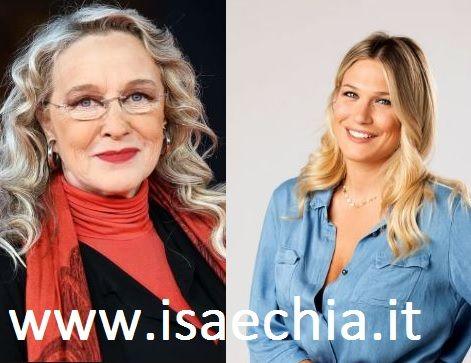 GF Vip, Eleonora Giorgi difende il figlio e accusa Maria De Filippi