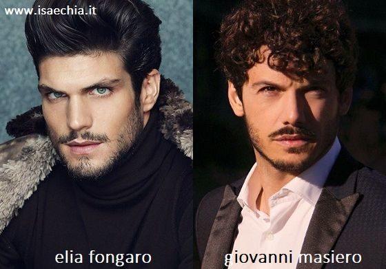 Somiglianza tra Elia Fongaro e Giovanni Masiero