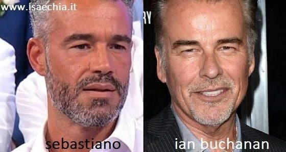 Somiglianza tra Sebastiano e Ian Buchanan