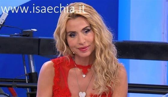 Trono classico - Valeria Marini
