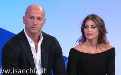 Trono classico - Stefano Bettarini e Nicoletta Larini