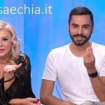 Trono classico - Tina Cipollari e Mario Serpa
