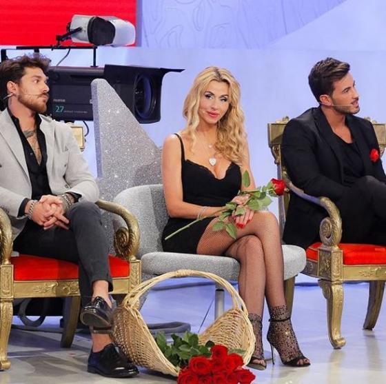 Valeria Marini, Ivan Gonzalez e Andrea Cerioli