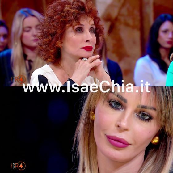 Nina Moric, scontro con Alda D'Eusanio: