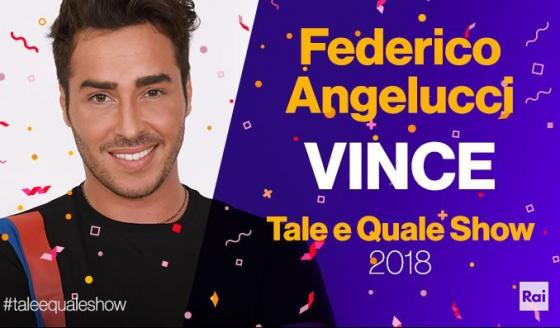 Tale e Quale Show - Federico Angelucci