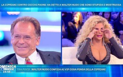 Domenica Live - Alessandro Cecchi Paone e Francesca Cipriani