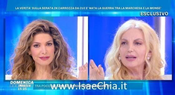Domenica Live - Maria Monsè e Daniela Del Secco D'Aragona