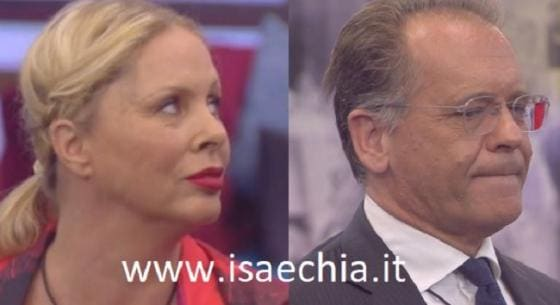 Ela Weber e Alessandro Cecchi Paone