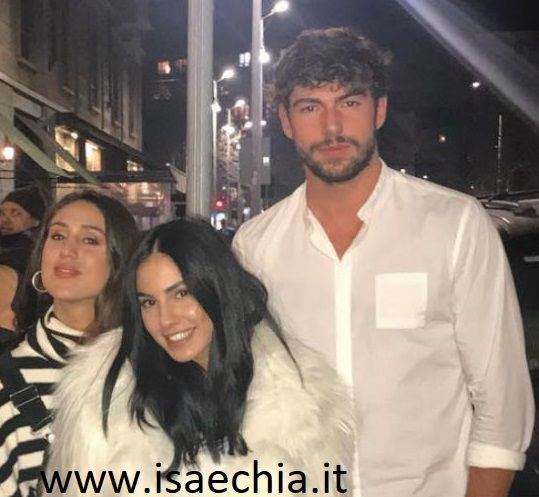 Ignazio Moser, Cecilia Rodriguez e Giulia De Lellis