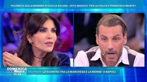 Domenica Live - Daniele Interrante, Fariba Tehrani