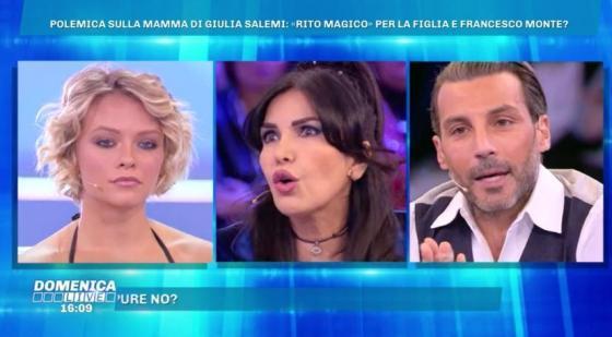 Domenica Live - Daniele Interrante, Fariba Tehrani, Giulia Provvedi