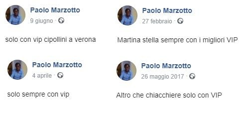 Facebook Marzotto