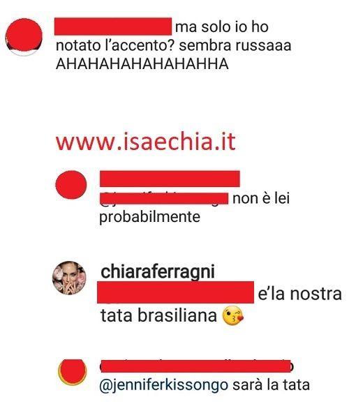 Instagram- Chiara