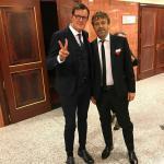 Paolo Marzotto e Paolo Ciavarro