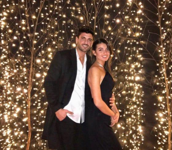 Rebecca Staffelli e Alessandro Basile