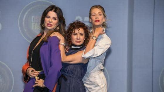 Alba Parietti, Alda D'Eusanio e Alessia Marcuzzi