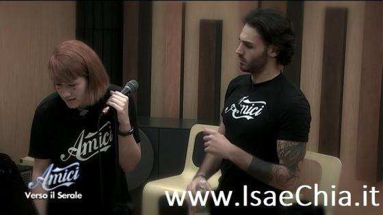 Amici 18 - Tish e Alberto Urso