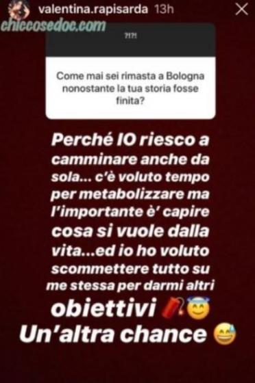 Instagram Story Rapisarda