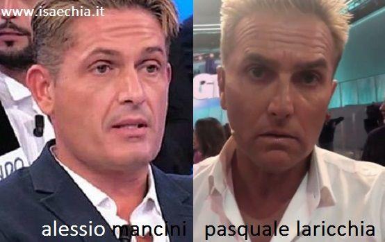 Somiglianza tra Alessio Mancini e Pasquale Laricchia