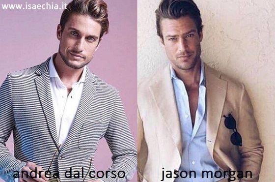 Somiglianza tra Andrea Dal Corso e Jason Morgan
