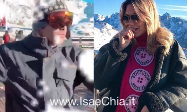 Benedetta Mazza e Stefano Sala, vacanza insieme sulla neve