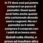 instagram Story Desirèe Maldera