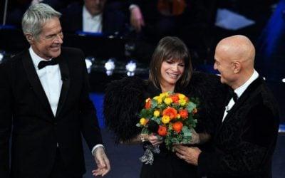 Claudio Baglioni, Claudio Bisio e Alessandra Amoroso