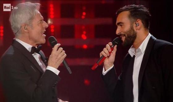 Claudio Baglioni e Marco Mengoni