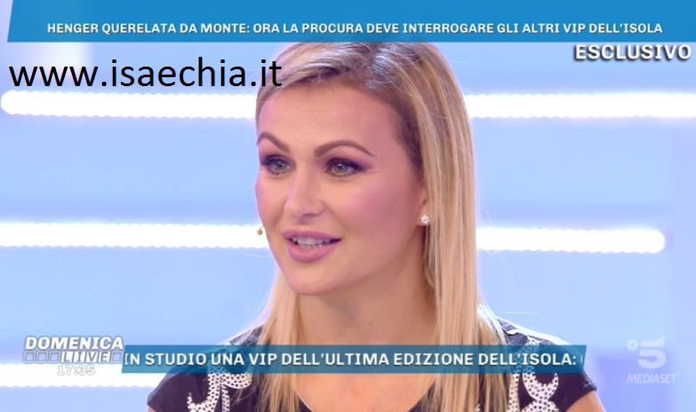 Domenica Live, Cecilia Capriotti: