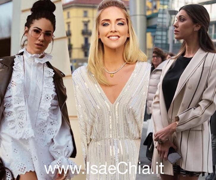 Belen Rodriguez, alla Milano Fashion Week incontra la Ferragni e si arrabbia