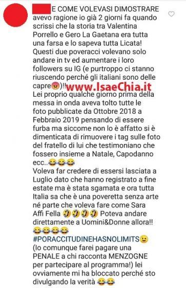Instagram - Valentina e Calogero