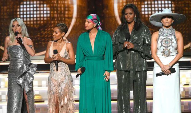 Risultati immagini per Grammy Awards 2019, ecco i vincitori. Sul palco anche Michelle Obama FOTO