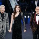 Sanremo 2019 - Claudio Baglioni, Virginia Raffaele e Claudio Bisio