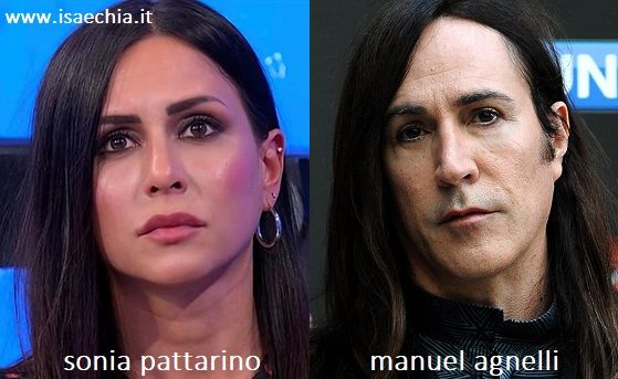 Somiglianza tra Sonia Pattarino e Manuel Agnelli