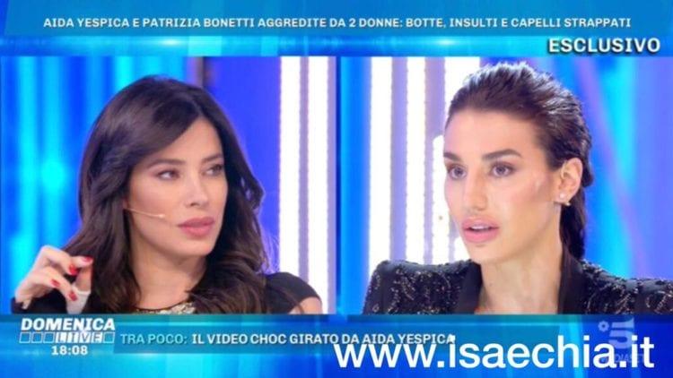 Domenica Live, Patrizia Bonetti e Aida Yespica: