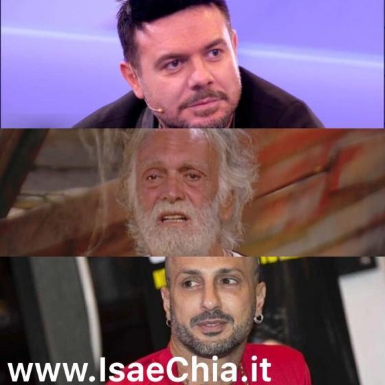 Giampaolo Celli, Riccardo Fogli, Fabrizio Corona