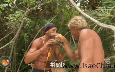 Isola 14 - Kaspar Capparoni e Stefano Bettarini