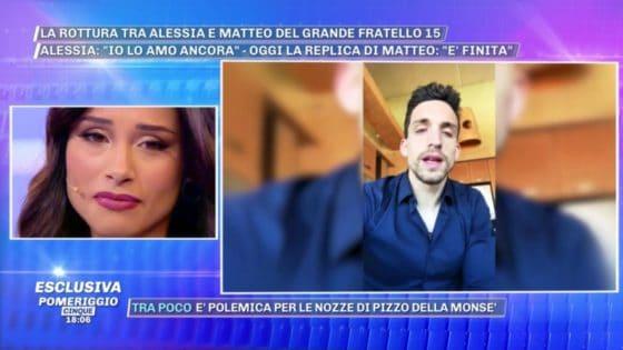 Pomeriggio Cinque - Alessia Prete e Matteo Gentili