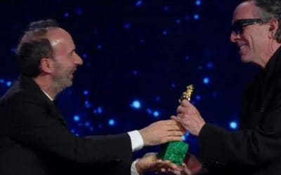 Roberto Benigni e Tim Burton