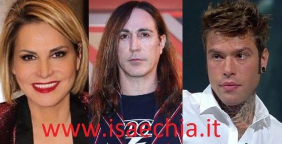 Simona Ventura - Manuel Agnelli - Fedez