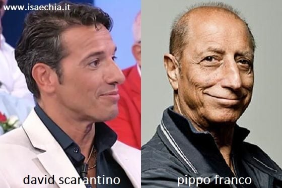 Somiglianza tra David Scarantino e Pippo Franco