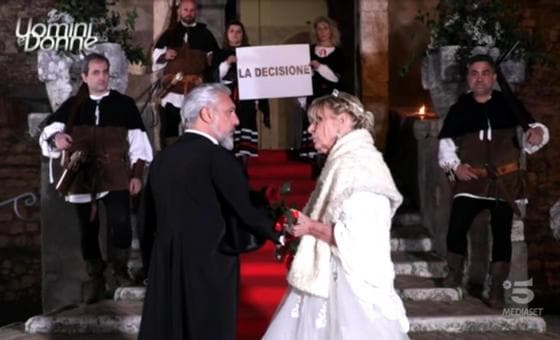 Trono over - Gemma Galgani e Rocco Fredella