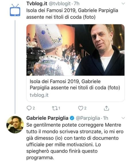 Twitter - Parpiglia
